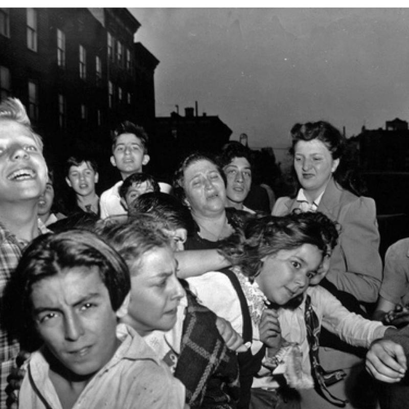 Weegee (Arthur Fellig), Their First Murder, c. 1941