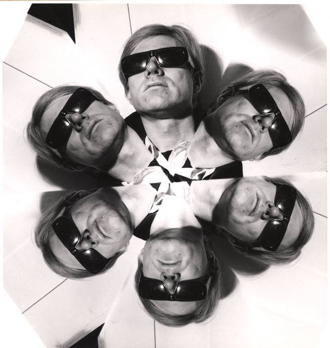 Copy of Weegee (Arthur Fellig), Andy Warhol Distortion, c. 1967, Image: 6 3/8 x 6 in. International Center for Photography, New York