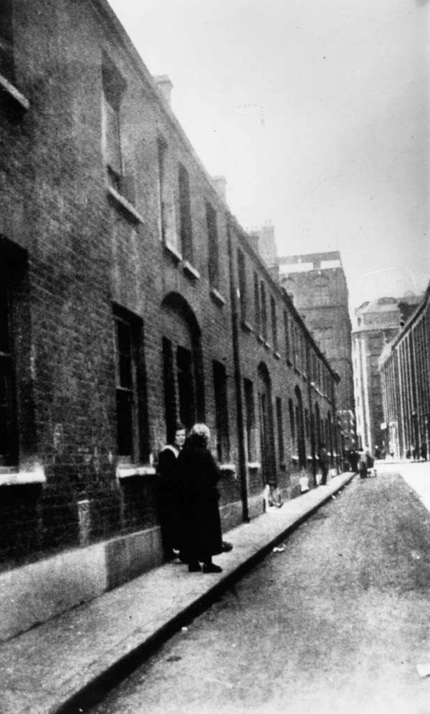 Bucks Row, London, where the body of Mary Ann Nichols was discovered.