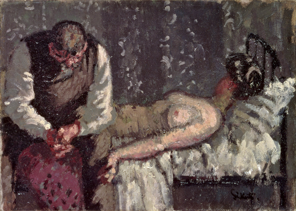 Walter Sickert, The Camden Town Murder or What Shall We Do about the Rent? c.1908, Yale Center for British Art