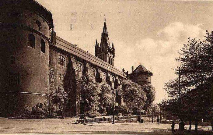 Koningsburg Castle prior to World War II