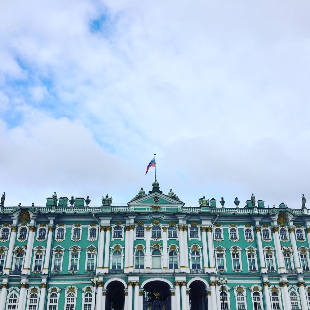 The Winter Palace, St. Petersburg, taken September 2016 by Jennifer Dasal