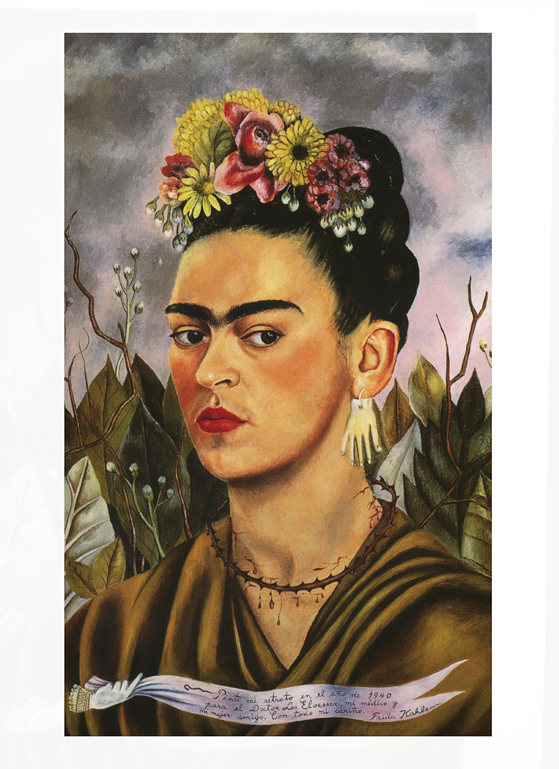 Frida Kahlo, Self-Portrait Dedicated to Dr. Eloesser, 1940