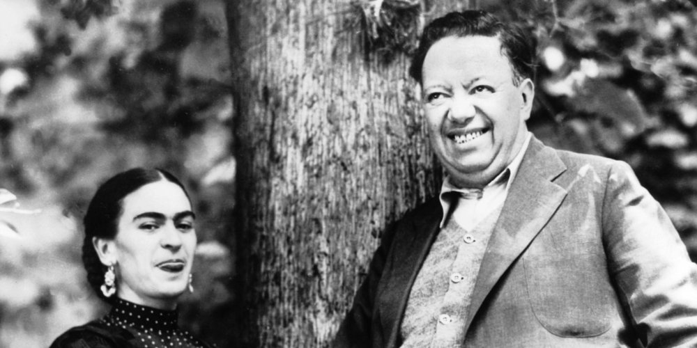 Frida and Diego, circa 1937