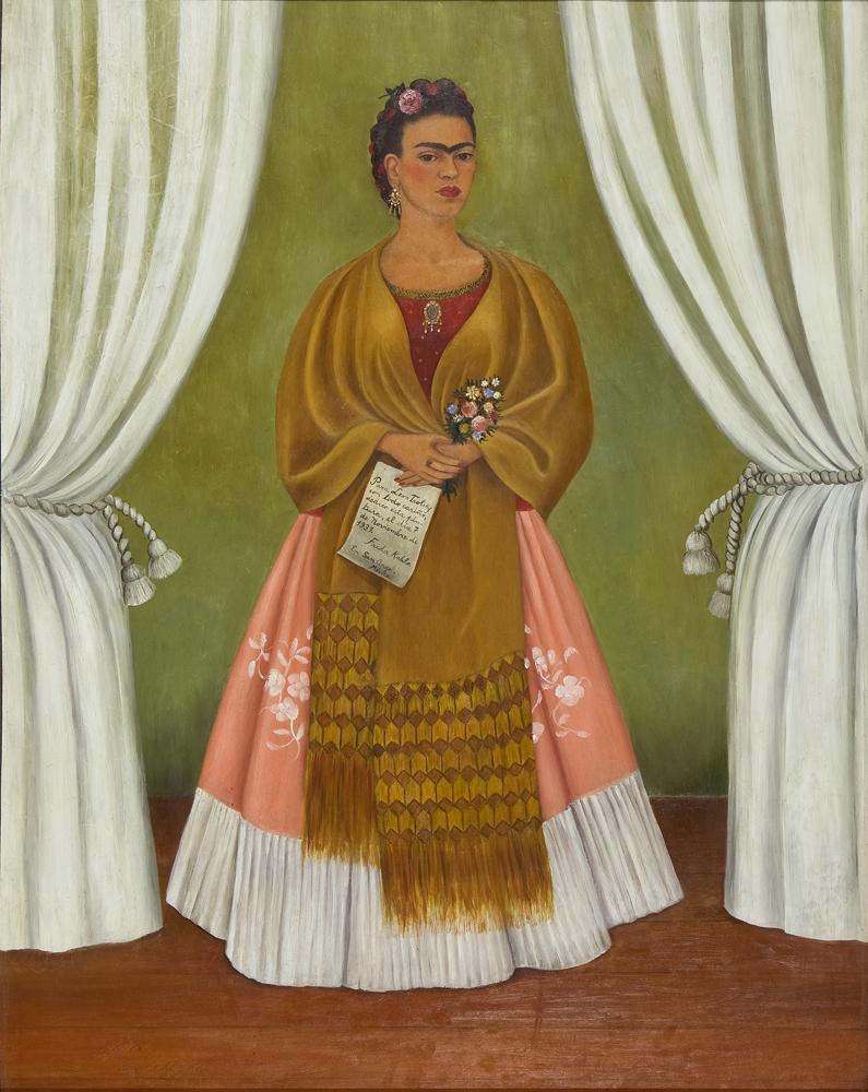 Frida Kahlo, Self Portrait Dedicated to Leon Trotsky, 1937