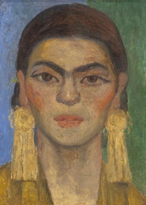 Diego Rivera, Portrait of Frida Kahlo, 1939