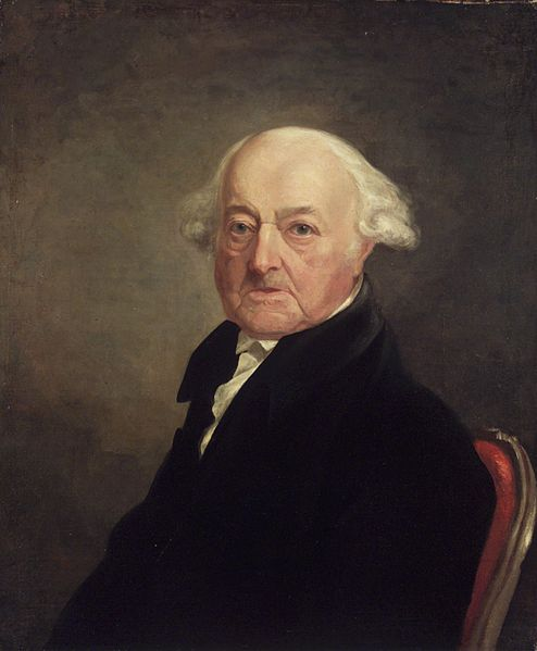 Portrait of John Adams, 1816, by Samuel Morse