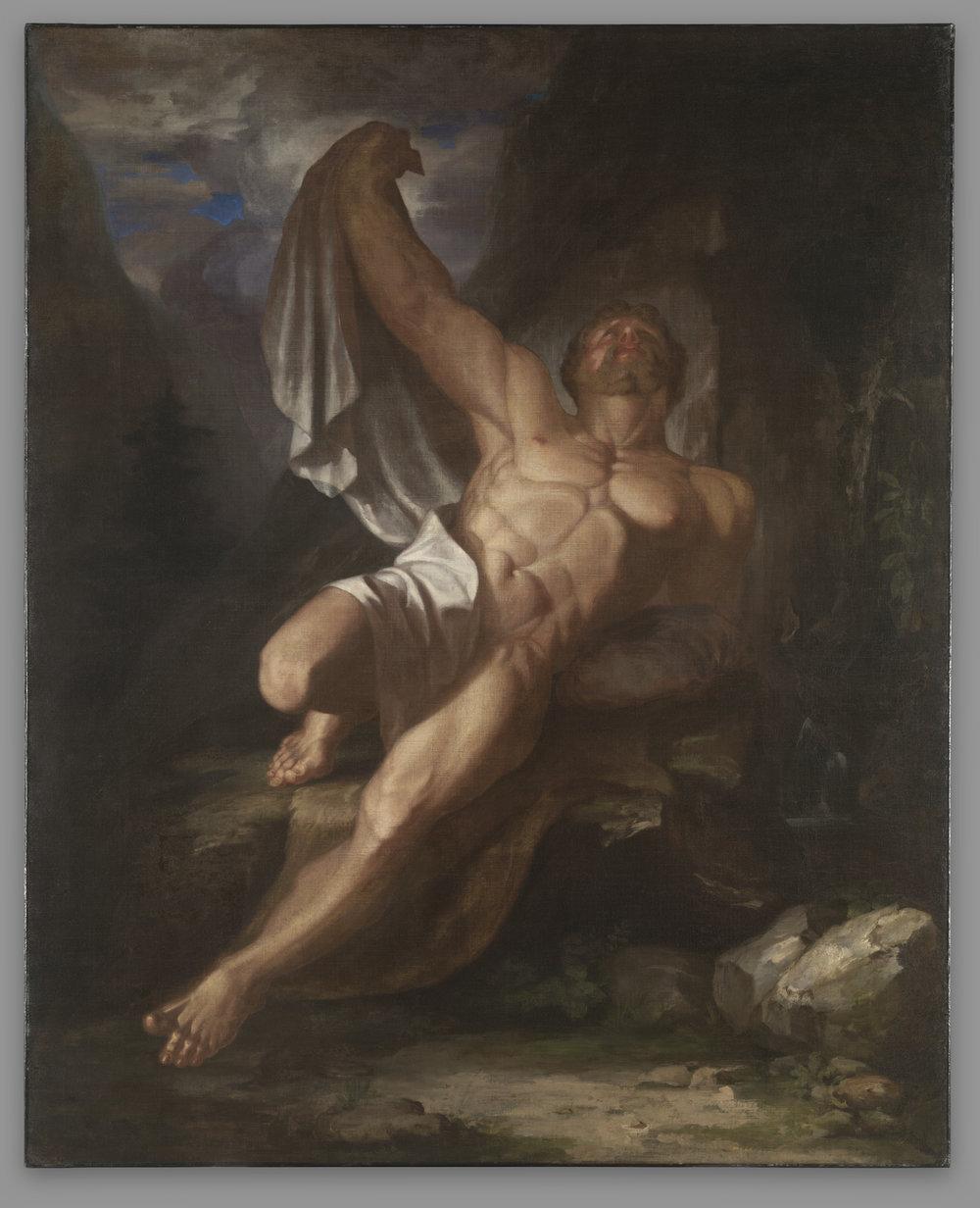 Dying Hercules by Samuel Morse, 1812