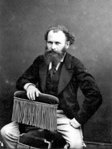 Photograph of Édouard Manet, c. 1875