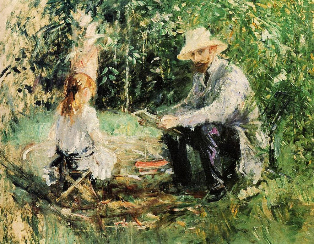 Berthe Morisot, Julie and Eugene Manet