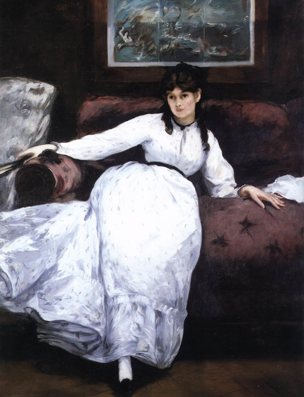 Édouard Manet, The Repose, 1870