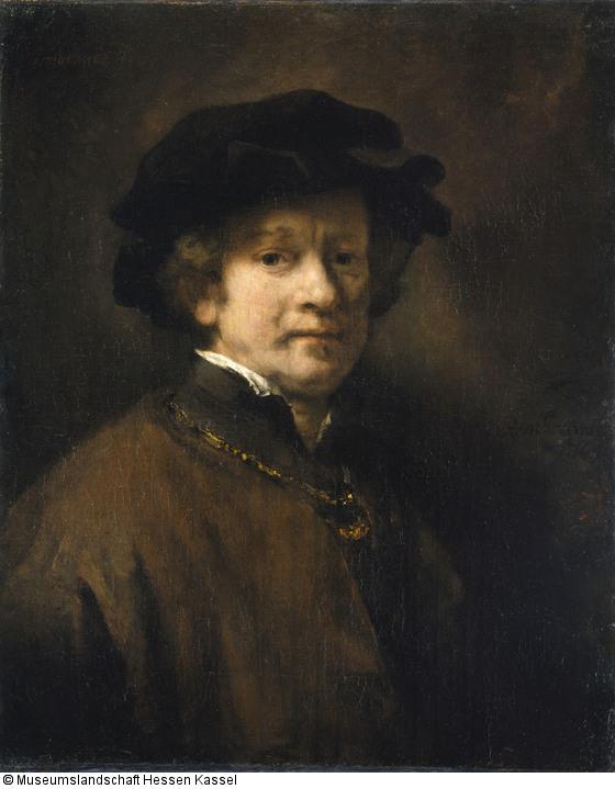 Rembrandt van Rijn, Self-Portrait, 1654