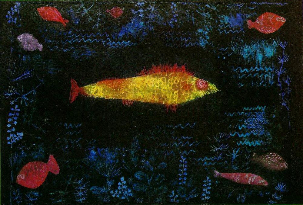 Paul Klee, The Goldfish, 1925