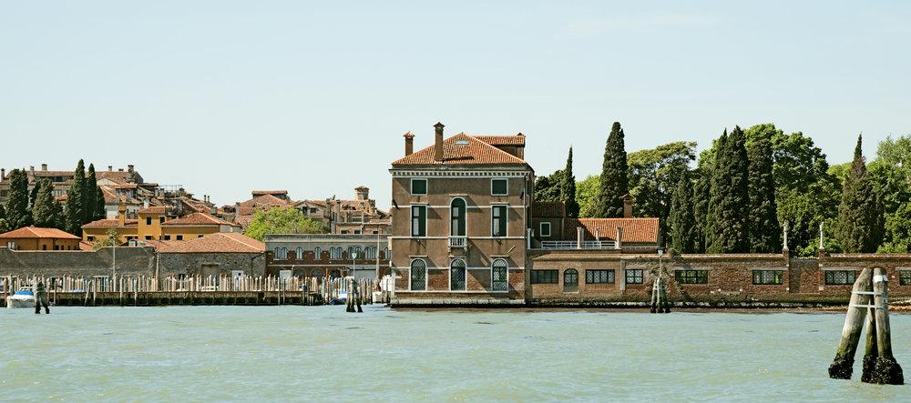 The Casino degli Spiriti, as seen from the water, Venice, Italy