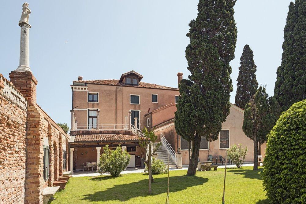 The Casino degli Spiriti, as seen from the back garden, Venice, Italy