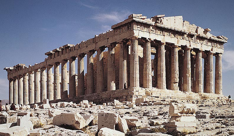 The Parthenon Today, Athens, Greece
