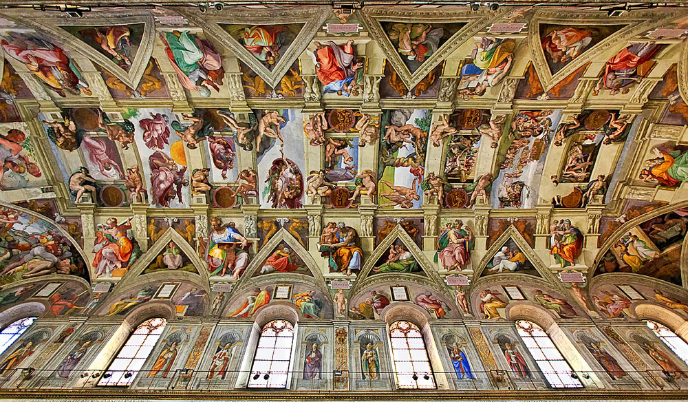 The Sistine Chapel, Post-Restoration