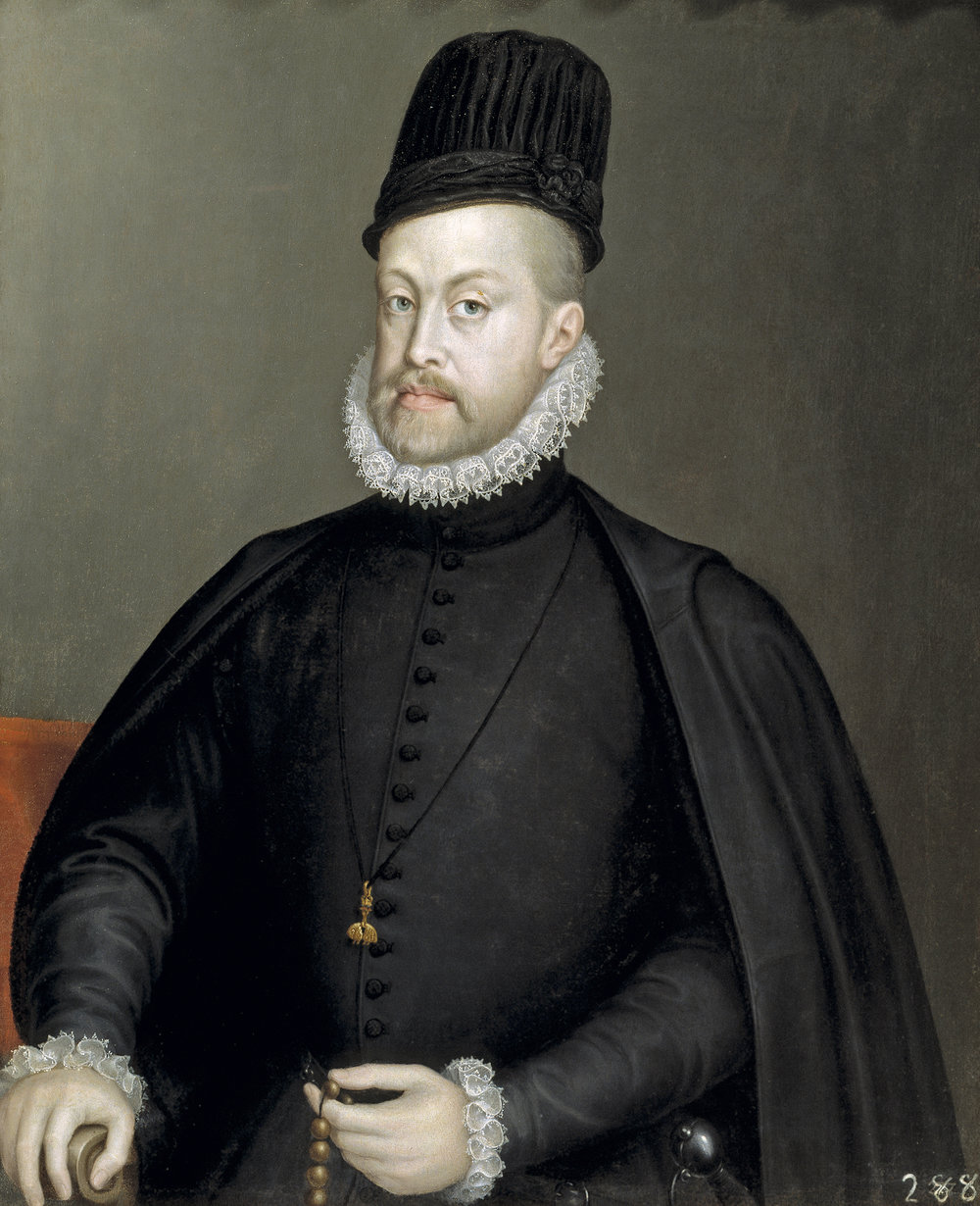 Sofonisba Anguissola, Philip II, 1573. Oil on canvas.