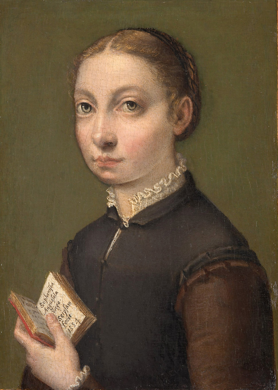Sofonisba Anguissola, Self-portrait, 1554. Oil on canvas.