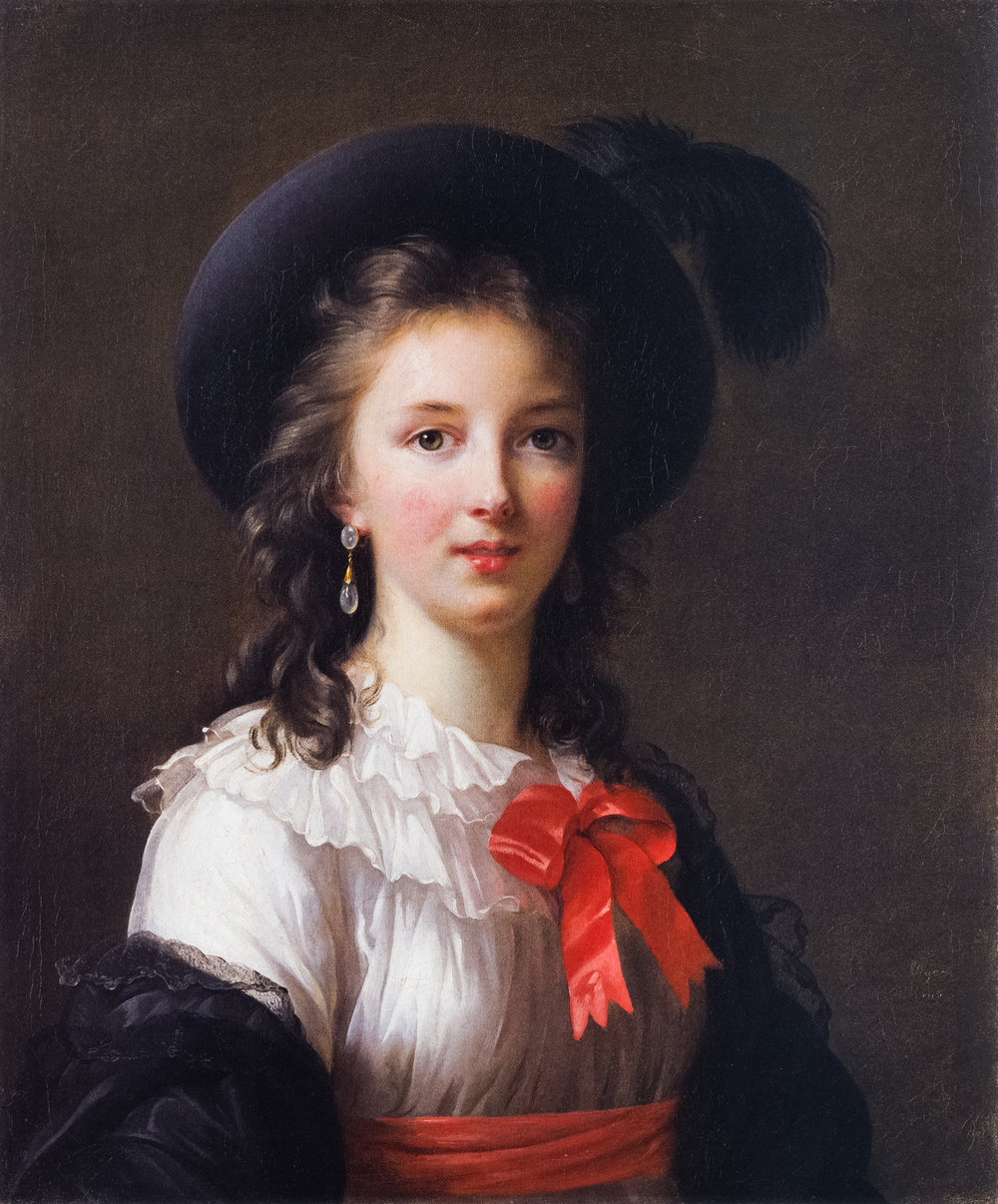 Elisabeth Vigeé Le Brun, Self-Portrait, circa 1781-1782, oil on canvas, Kimbell Art Museum