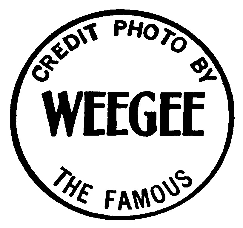 Weegee's Photo Credit