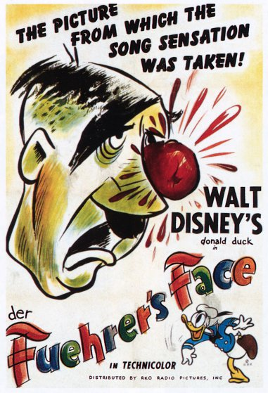 Promotional poster for Der Fuehrer's Face