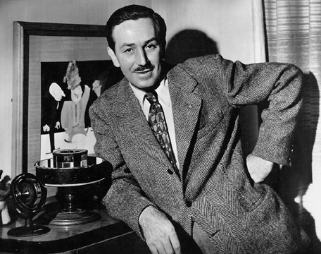 Walt Disney in the 1940s