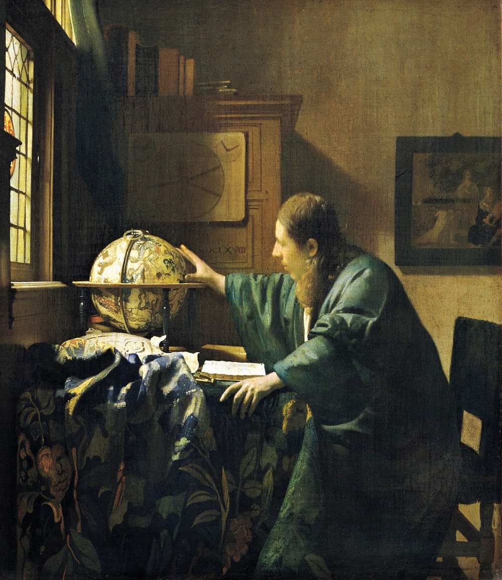 Vermeer's The Astronomer , one of the most famous paintings destined for Hitler's museum