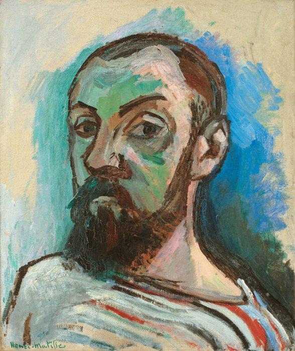 Henri Matisse, Self-Portrait, 1906