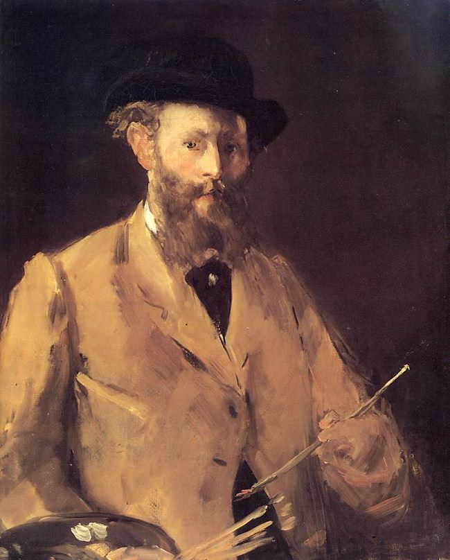 Edouard Manet, Self-Portrait with Palette, 1878–1879