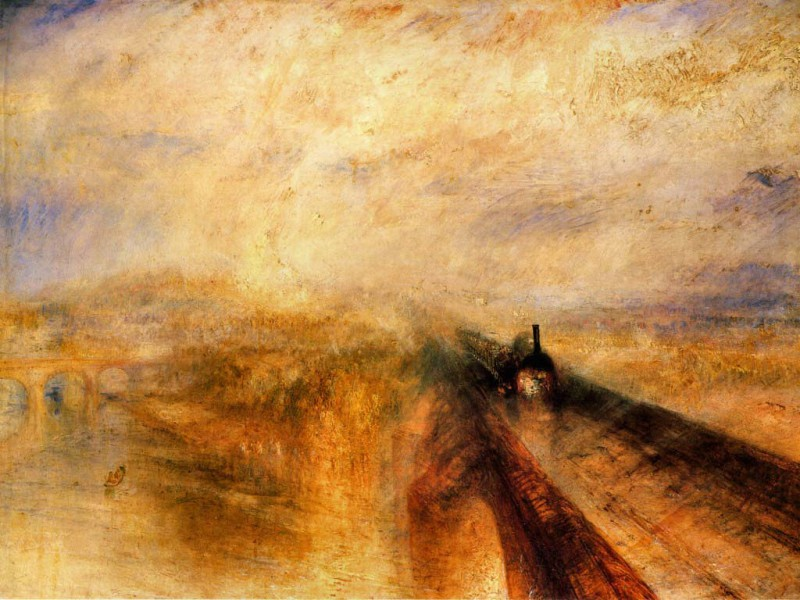 JMW Turner, Rain, Steam and Speed, 1844