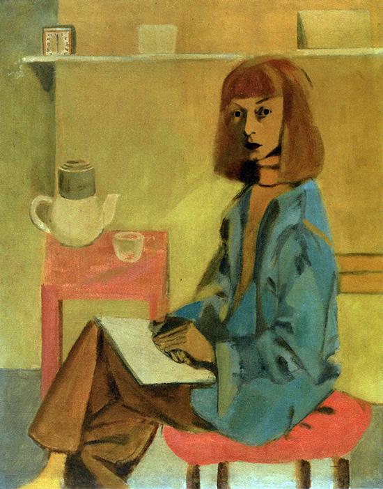 Elaine de Kooning, Self-Portrait, 1946