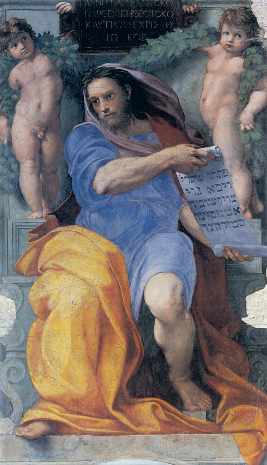 Raphael, the Prophet Isaiah from the Basilica di Sant'Agostino, 1512