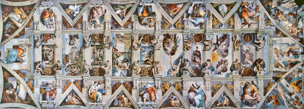Michelangelo's Sistine Chapel Ceiling, 1508-1512