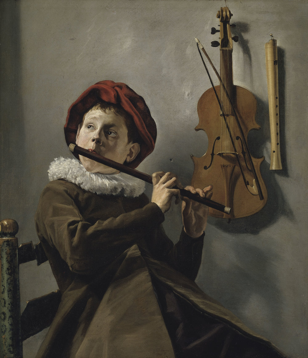Judith Leyster, Boy Playing the Flute, early 1630s