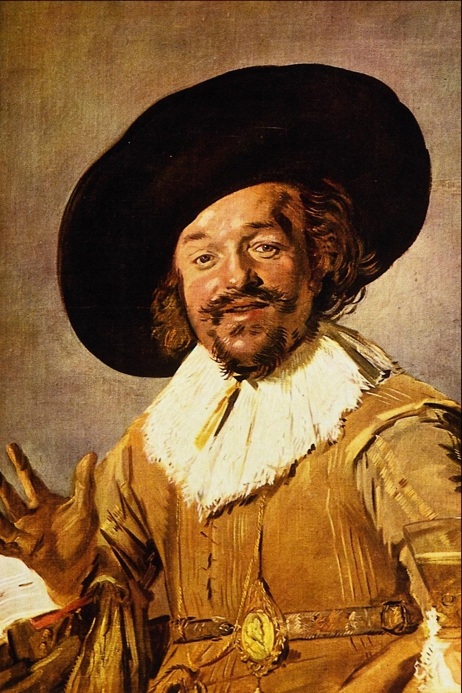 Frans Hals, The Jolly Toper, c. 1628-1630