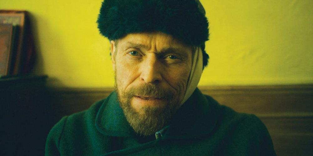Willem Dafoe as Van Gogh in 2018's At Eternity's Gate