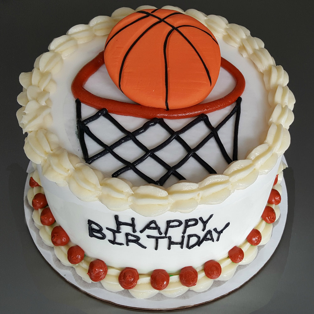 Basketball Buttercream