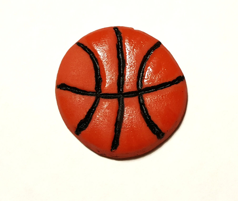 Basketball Cupcake Topper