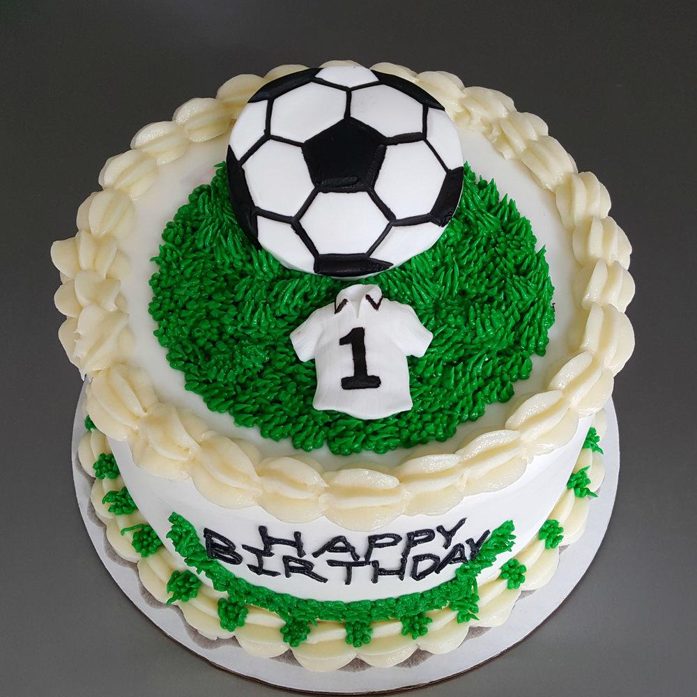 Soccer Buttercream