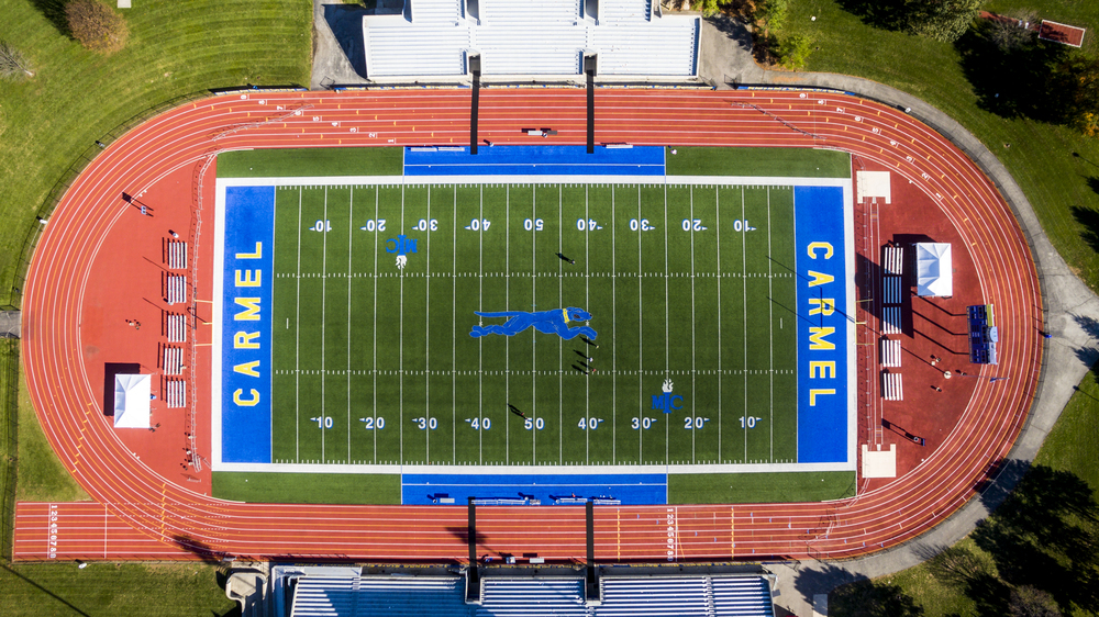 Carmel High School Stadium Aerial Photography