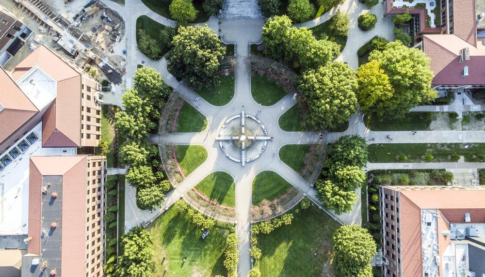 Purdue Engineering Fountain