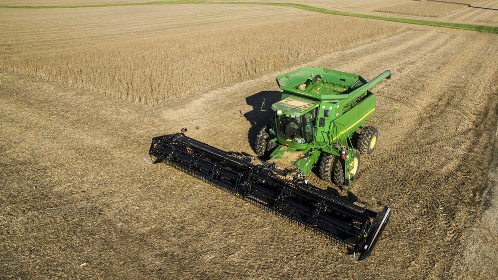 Agriculture John Deere Aerial Photography