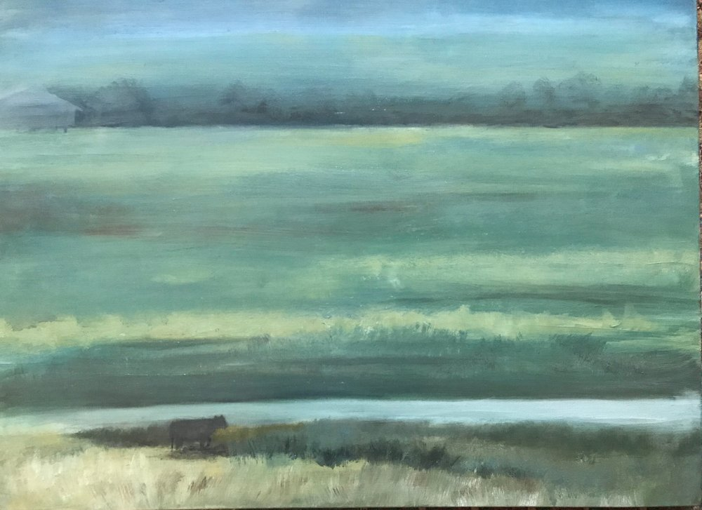 Green Pastures and Still Waters 30x40 F