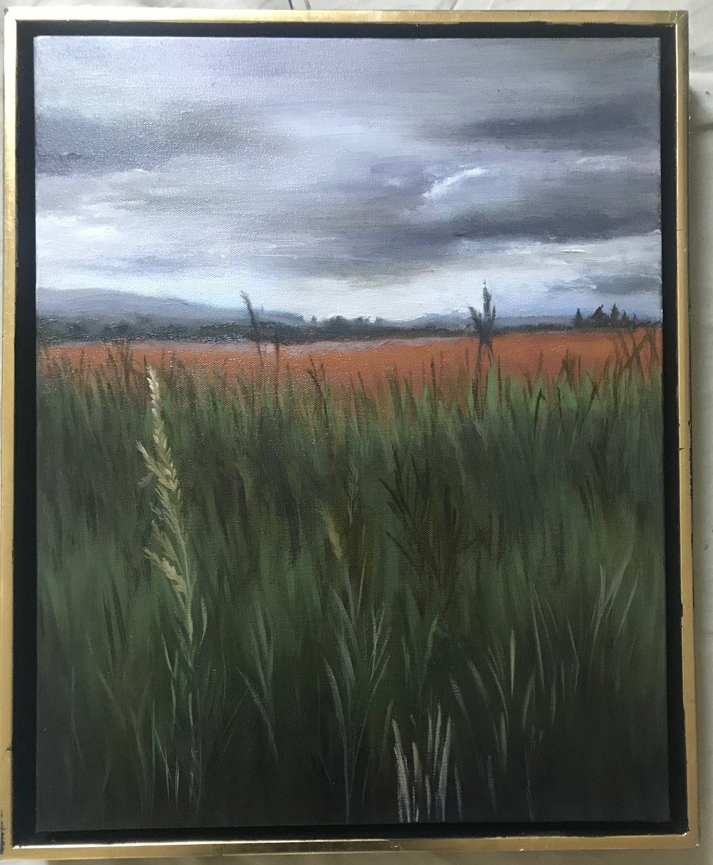 Wheat Among Tares 20x16 F (framed)
