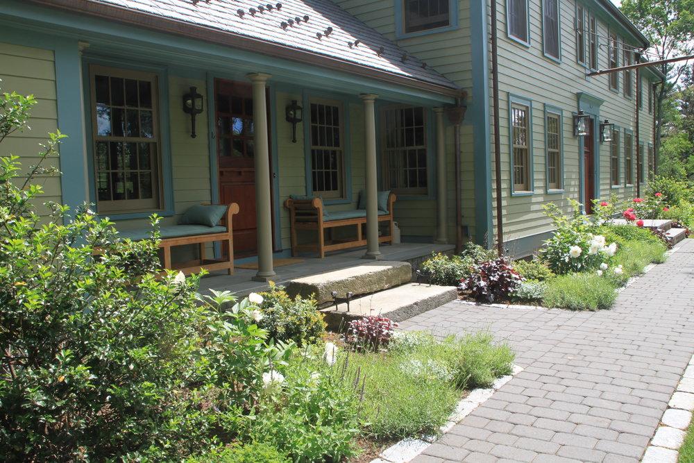 Farmers Porch & Low Plantings.JPG