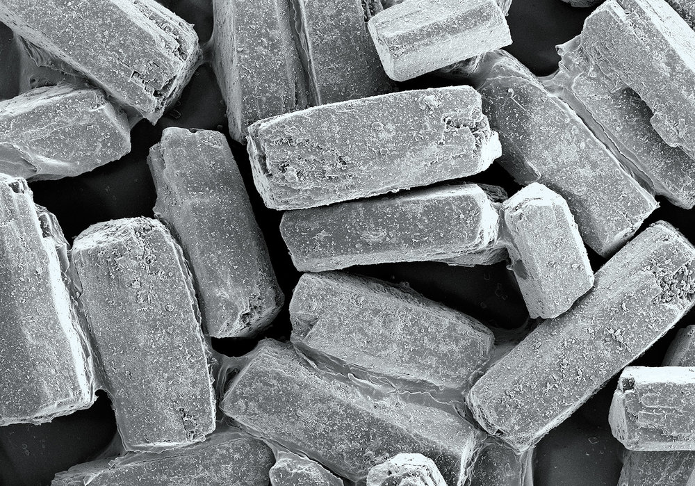 terra cibus no.18: sugar in the raw  15x magnification