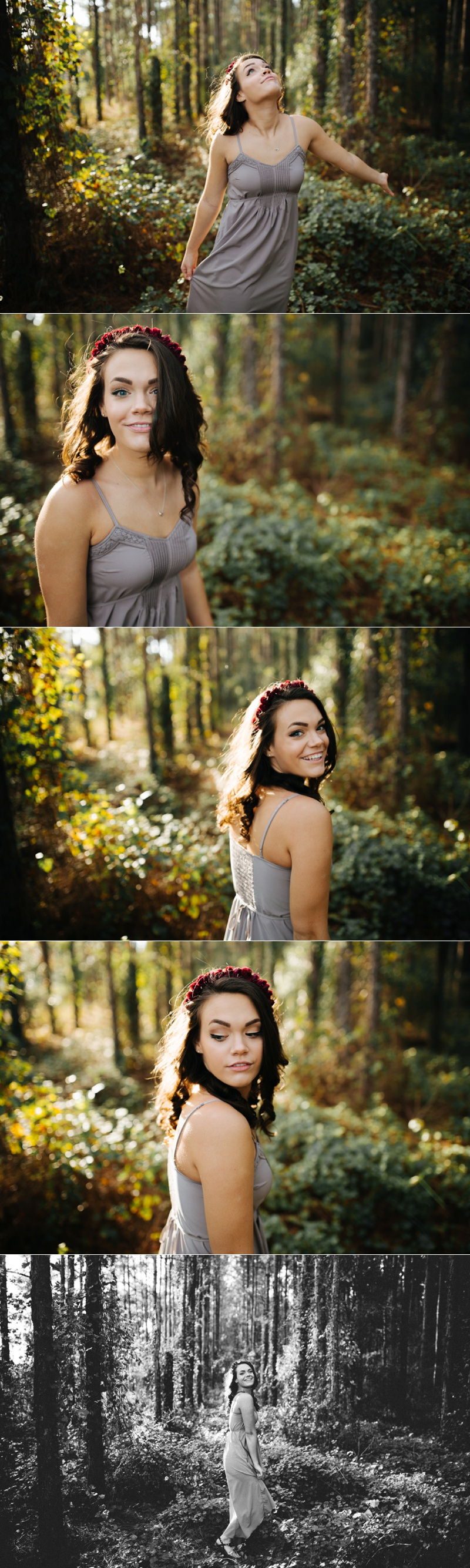 tampa woodsy senior portraits-3