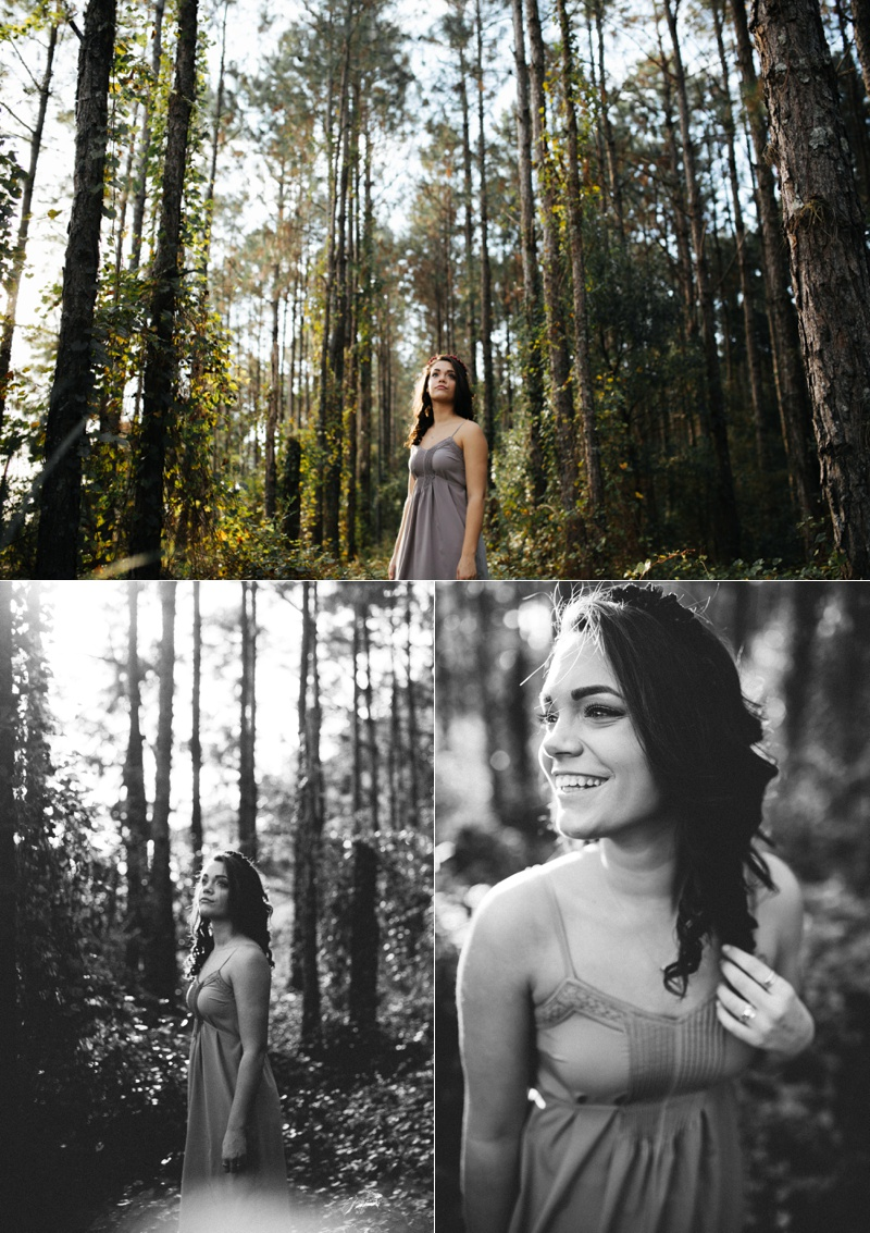 tampa woodsy senior portraits-4