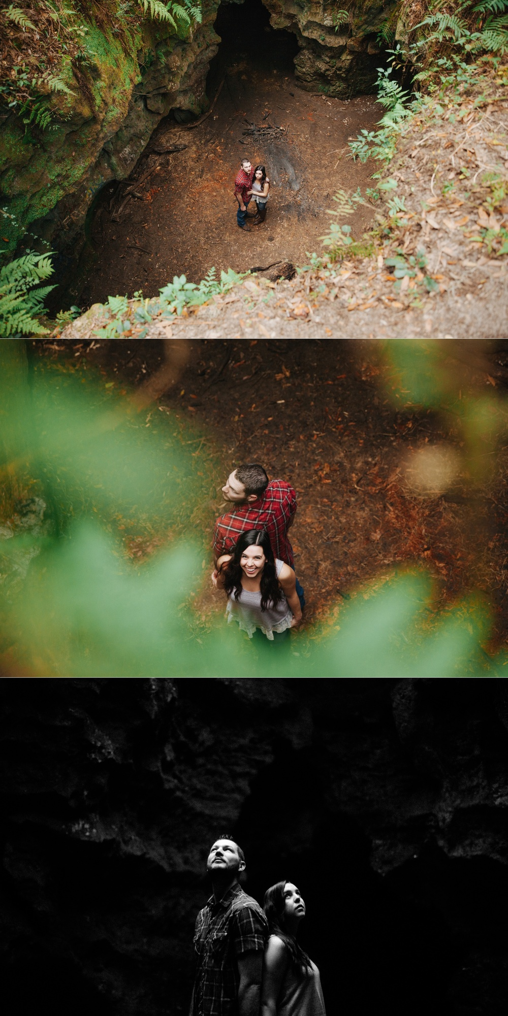tampa outdoor hiking cave engagement session-5